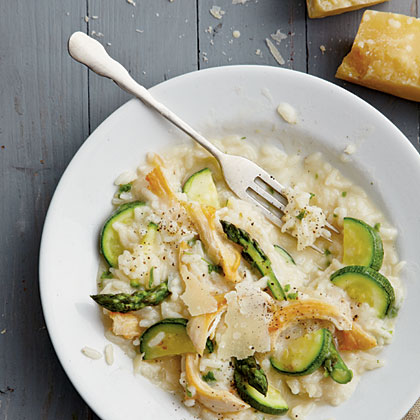 Chicken Risotto with Spring VegetablesRecipe