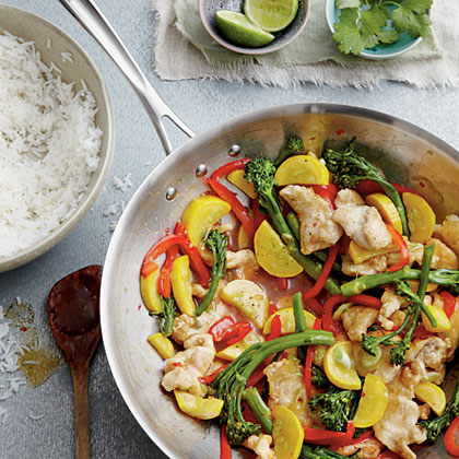Chicken-and-Veggie Stir-fry