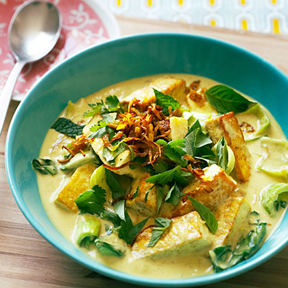 Fresh Herb and Tofu Curry