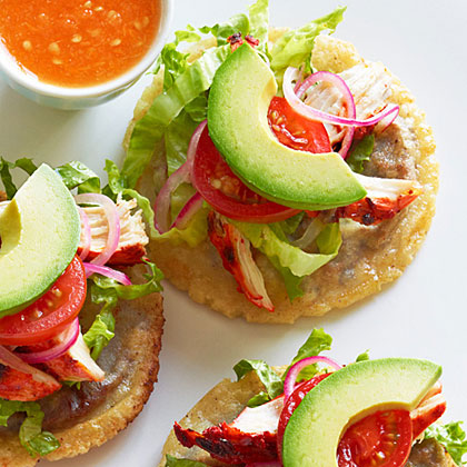 Panuchos (Black-Bean-Filled Tostadas)