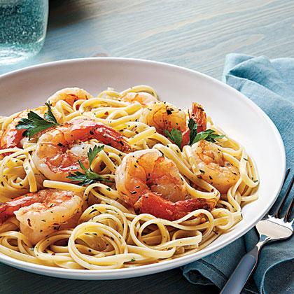 Shrimp Scampi Linguine Recipe Myrecipes