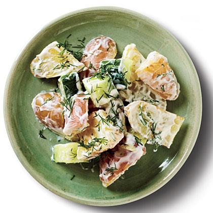Sour Cream-Dill Potato Salad