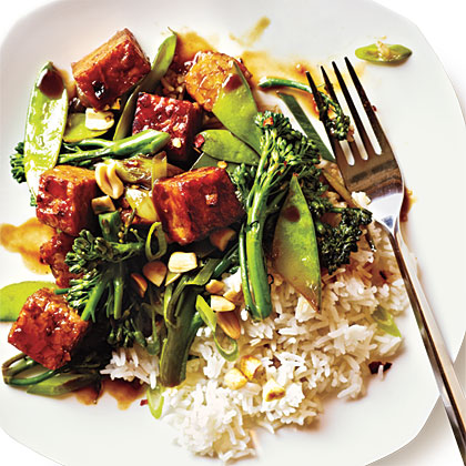 Tempeh and Broccolini Stir-Fry