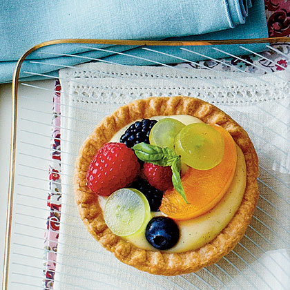 Vanilla-Buttermilk Tarts Recipe