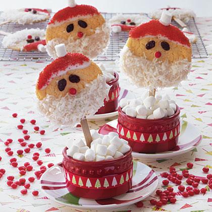 Santa Claus Cookie Pops