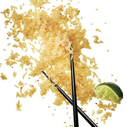 Brown Rice with SesameRecipe