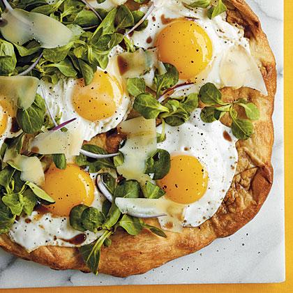 Sunny-Side-Up Pizza Recipe