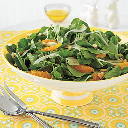 Orange, Fennel and Watercress Salad