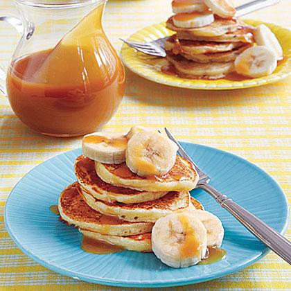 Ricotta-Banana Pancakes