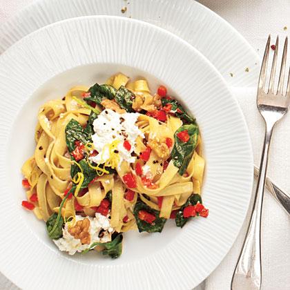 Ricotta-Spinach Pasta