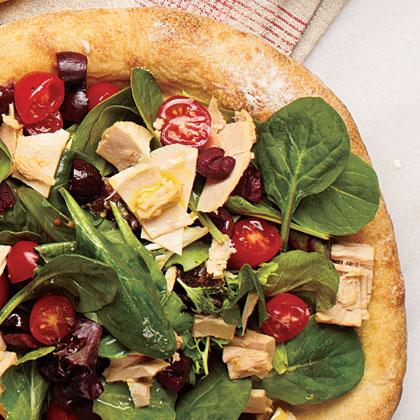 Tuna Salad Pizza