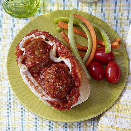 Turkey Meatball Subs
