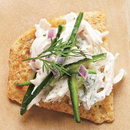 Tzatziki Chicken SaladRecipe