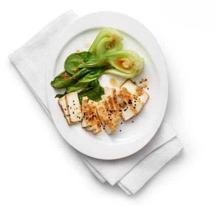<p>Miso-Glazed Tofu</p>