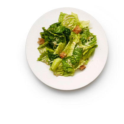 <p>No-Guilt Caesar Salad</p>
