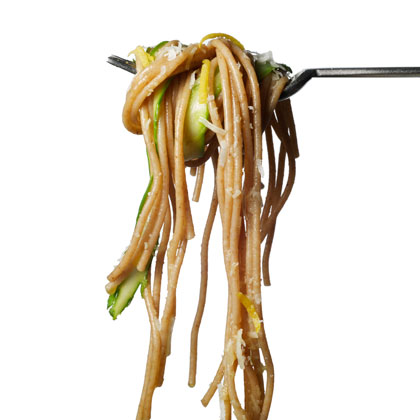 <p>Spaghetti With Asparagus and Lemon</p>
