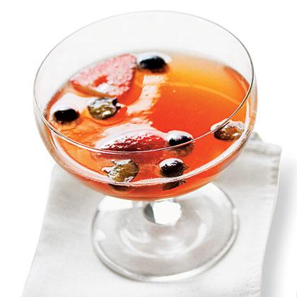 Berry Bubbly PunchRecipe