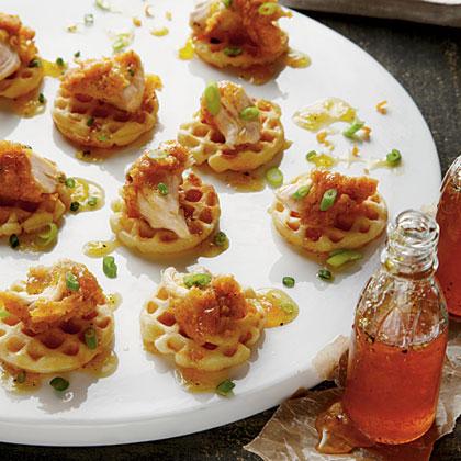 Buttermilk Chicken and Waffles