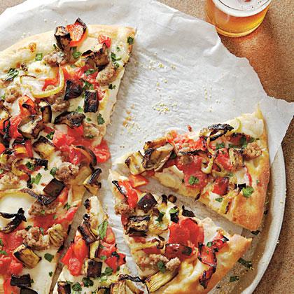 Farmers' Market PizzaRecipe