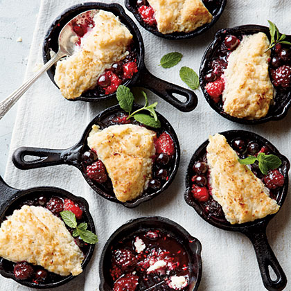 Mini Berry CobblersRecipe