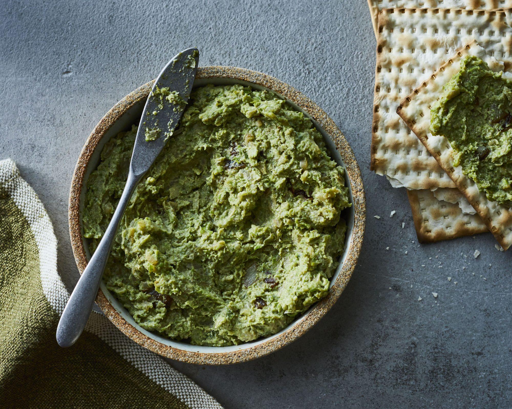 Safta's Mock Liver (Green Bean and Pea Pate)