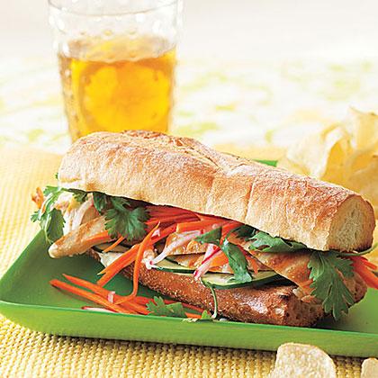 Vietnamese Chicken SandwichesRecipe
