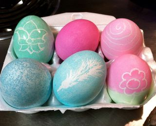 Dyeing Easter Eggs on a Budget
