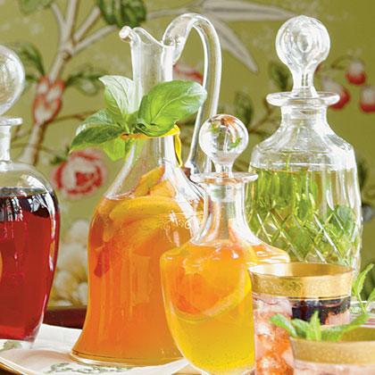 Peach-Basil Syrup