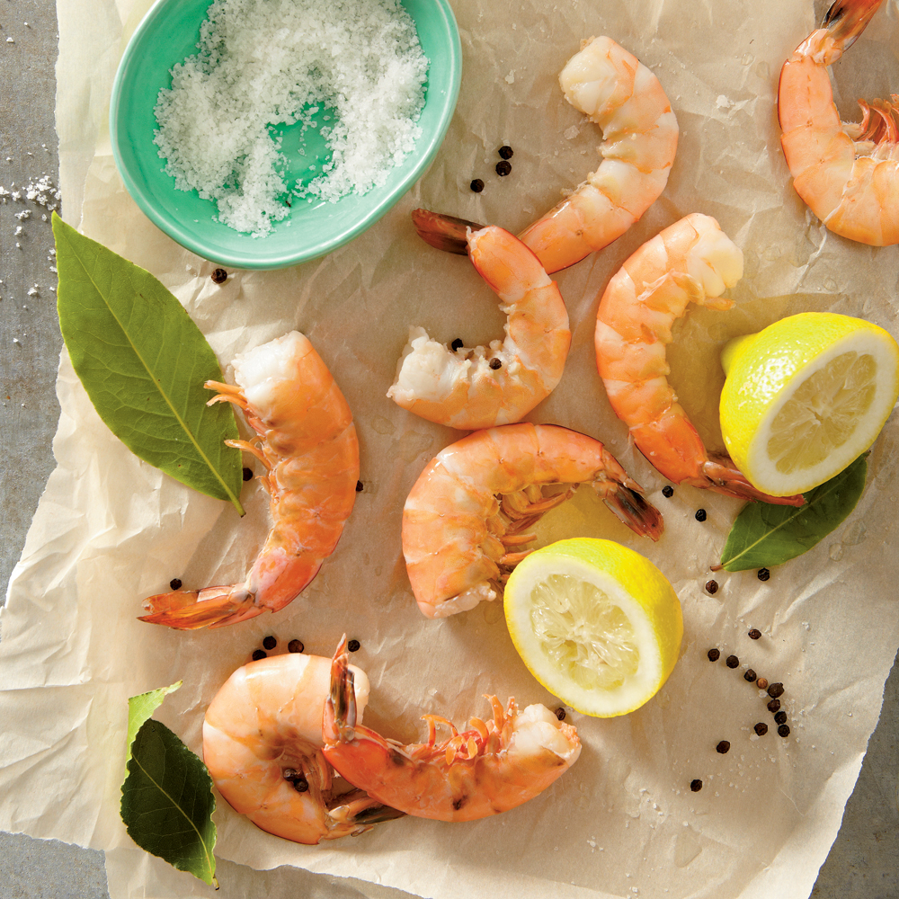 Perfect Poached Shrimp