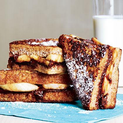 Banana-Chocolate French ToastRecipe