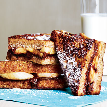 Banana-Chocolate French Toast