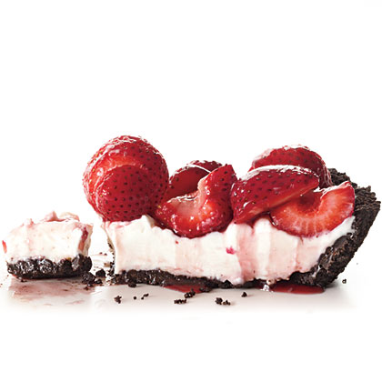 No-Bake Fresh Strawberry Pie Recipe