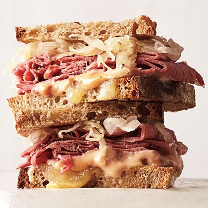 Reuben Sandwiches Recipe