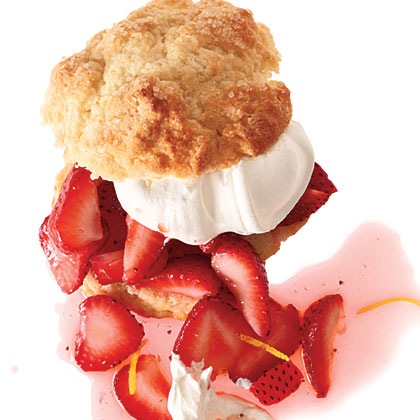 Strawberry-Lemon ShortcakesRecipe