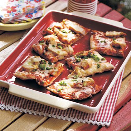 Grilled BBQ Chicken PizzaRecipe