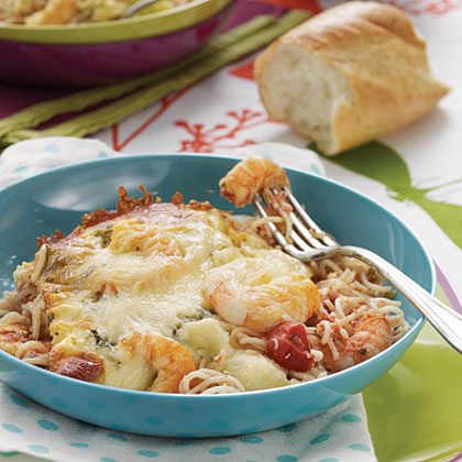 Shrimp and Feta Casserole
