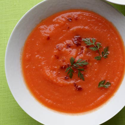 <p>Carrot-Ginger Soup</p>