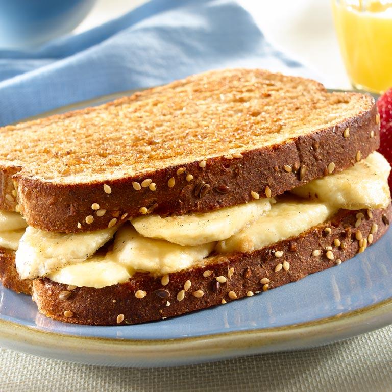 Banana Bliss Breakfast Sandwiches