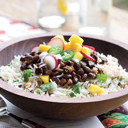 Black Beans and Coconut-Lime RiceRecipe