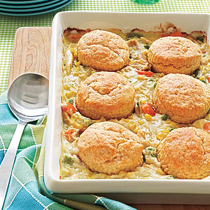 Biscuit-Topped Chicken Potpie Recipe