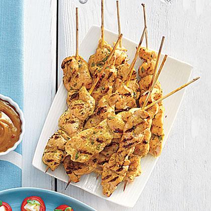 Chicken Satay With Peanut Sauce Recipe Myrecipes
