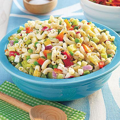 Confetti Macaroni Salad