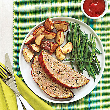 Italian-Style Turkey Meat Loaf