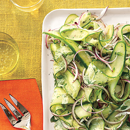 Herby Cucumber Salad