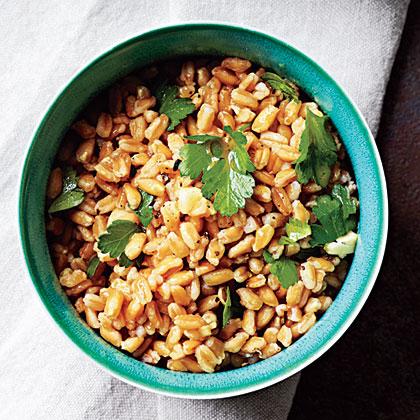 Parsley-Farro Salad Recipe