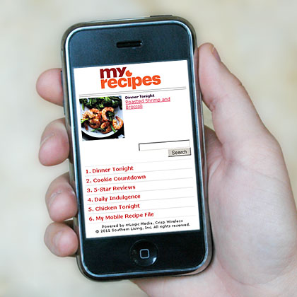 MyRecipes.com Mobile
