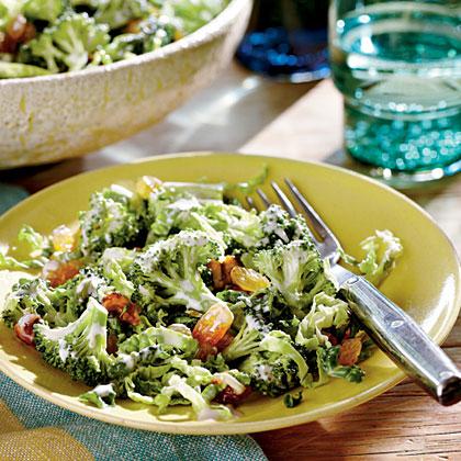 Broccoli Slaw with Candied PecansRecipe