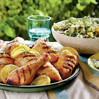 Buttermilk-Brined Grilled ChickenRecipe
