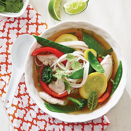 Ginger Chicken Noodle BowlsRecipe