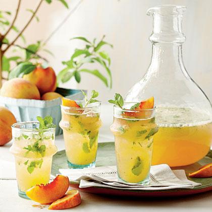 Peach MojitosRecipe